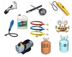 Запчасти и аксессуары для заправки кондиционеров