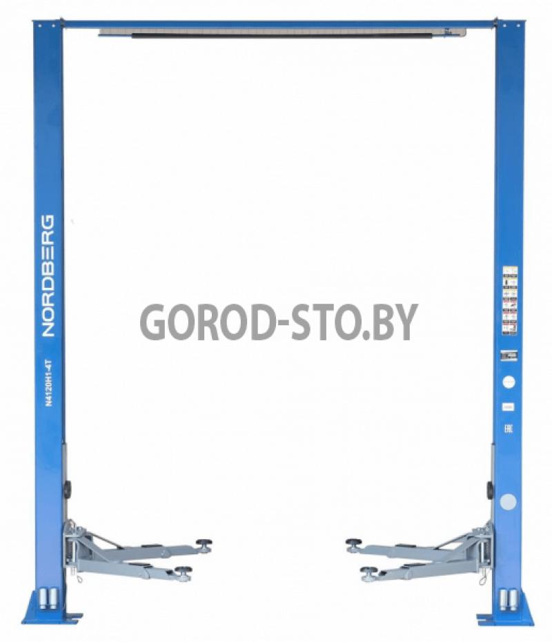 Подъёмник 2-х стоечный электрогидравлический NORDBERG N4120H1-4T 380V