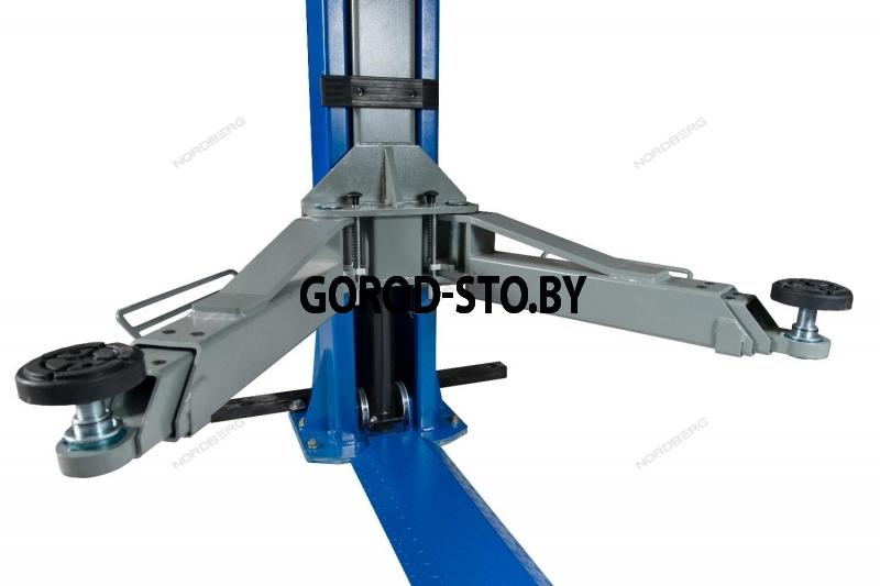 Подъёмник 2-х стоечный электрогидравлический NORDBERG N4123A-5T