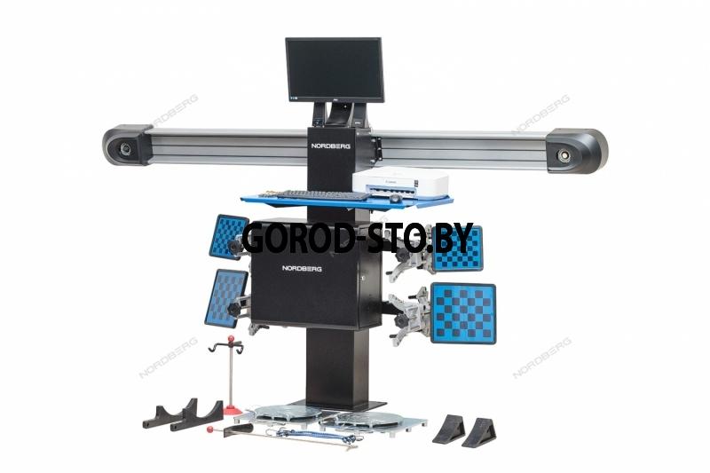 3D стенд развал-схождения для ям NORDBERG C802PIT