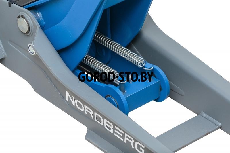 Домкрат подкатной NORDBERG N32036