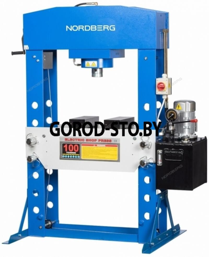 Пресс электрогидравлический напольный NORDBERG N36100E