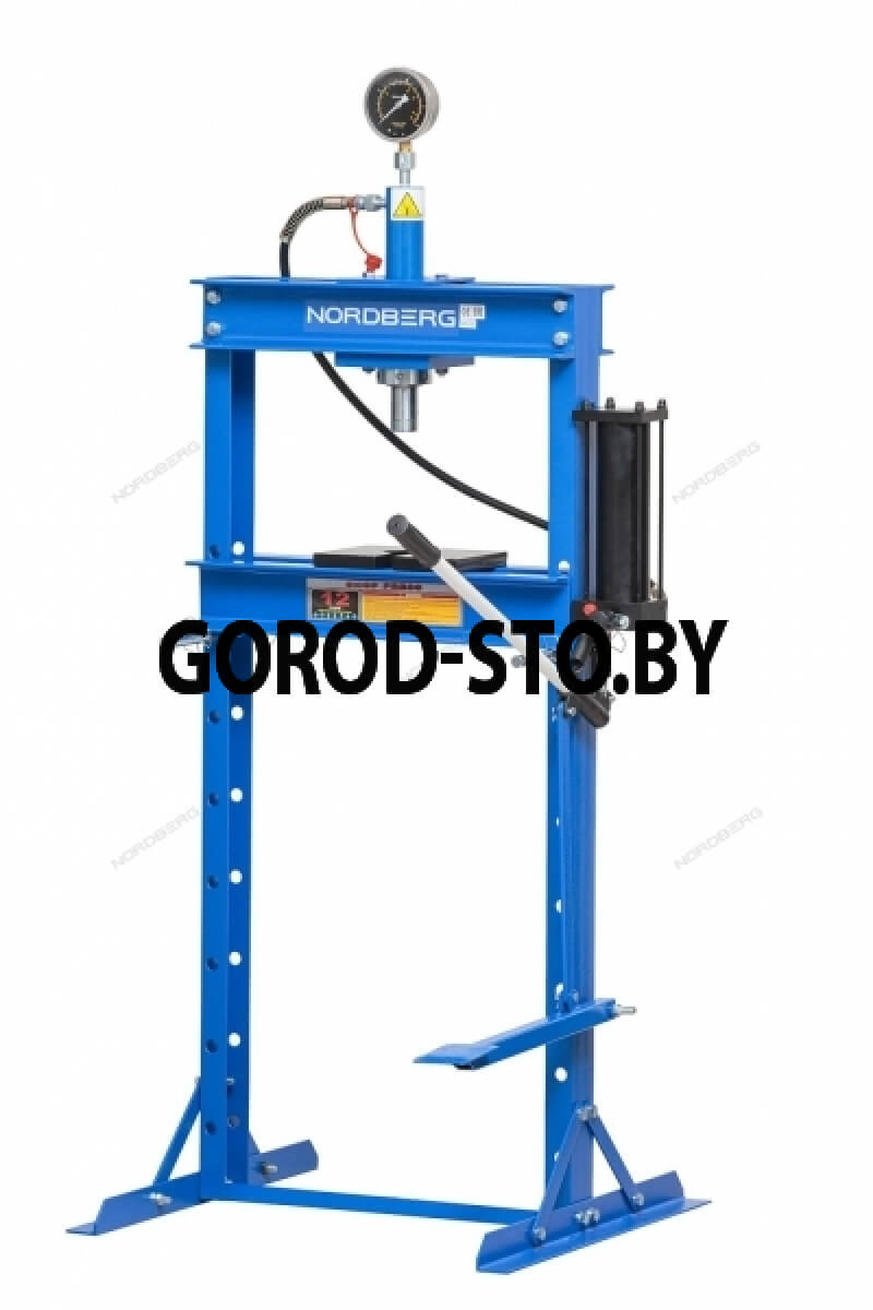 Пресс гидравлический напольный NORDBERG N3612F