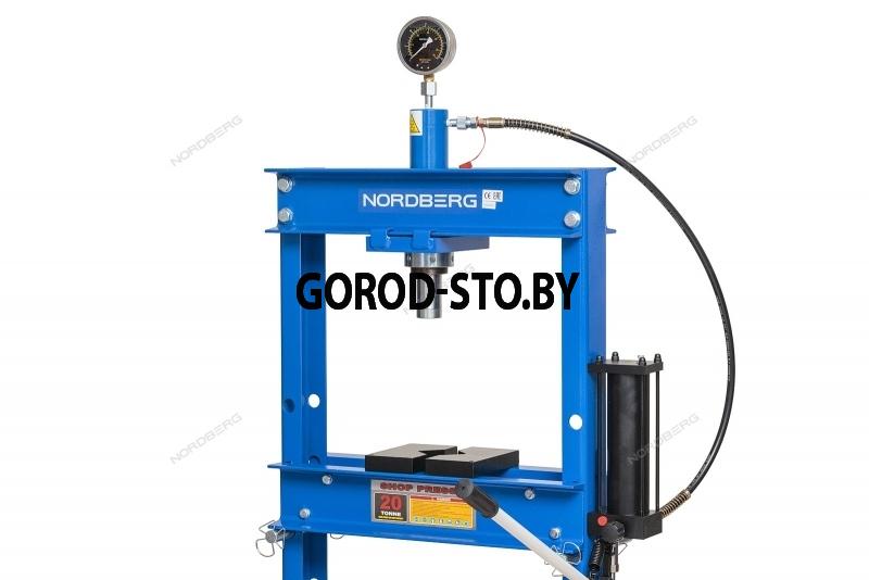 Пресс гидравлический напольный NORDBERG ECO N3620FL
