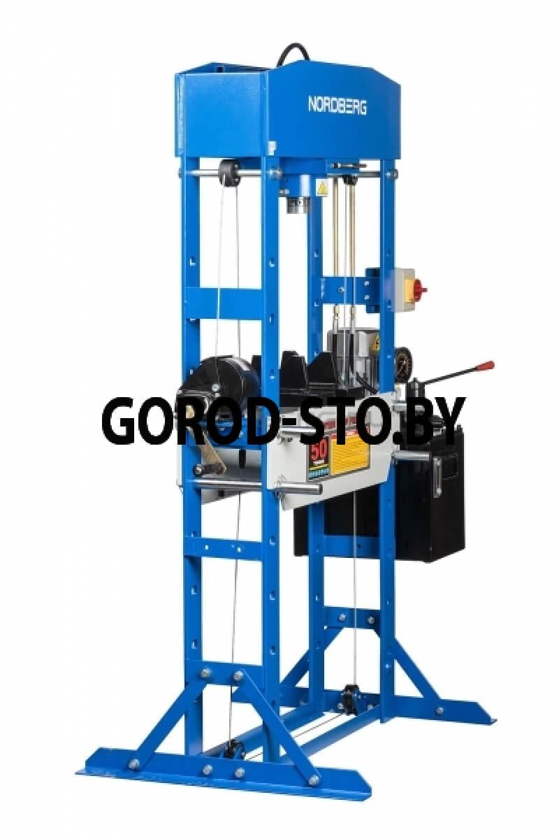 Пресс электрогидравлический напольный NORDBERG N3650E