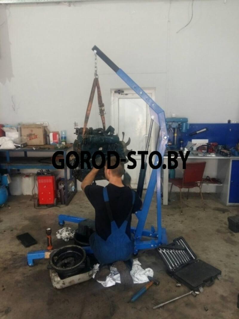 Кран гидравлический складной NORDBERG N3710