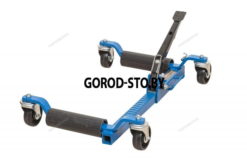 Домкрат механический подкатной для перемещения авто NORDBERG N3S1