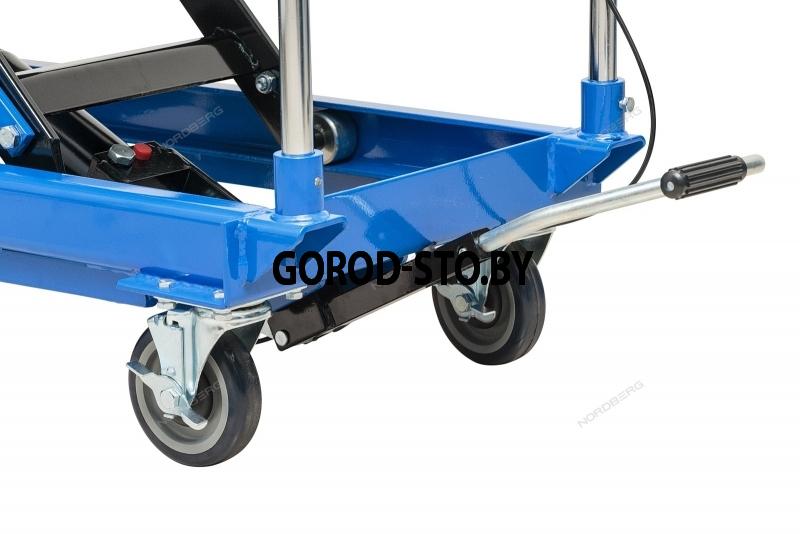 Подъемный стол гидравлический (тележка, подъемная платформа) NORDBERG N3T750