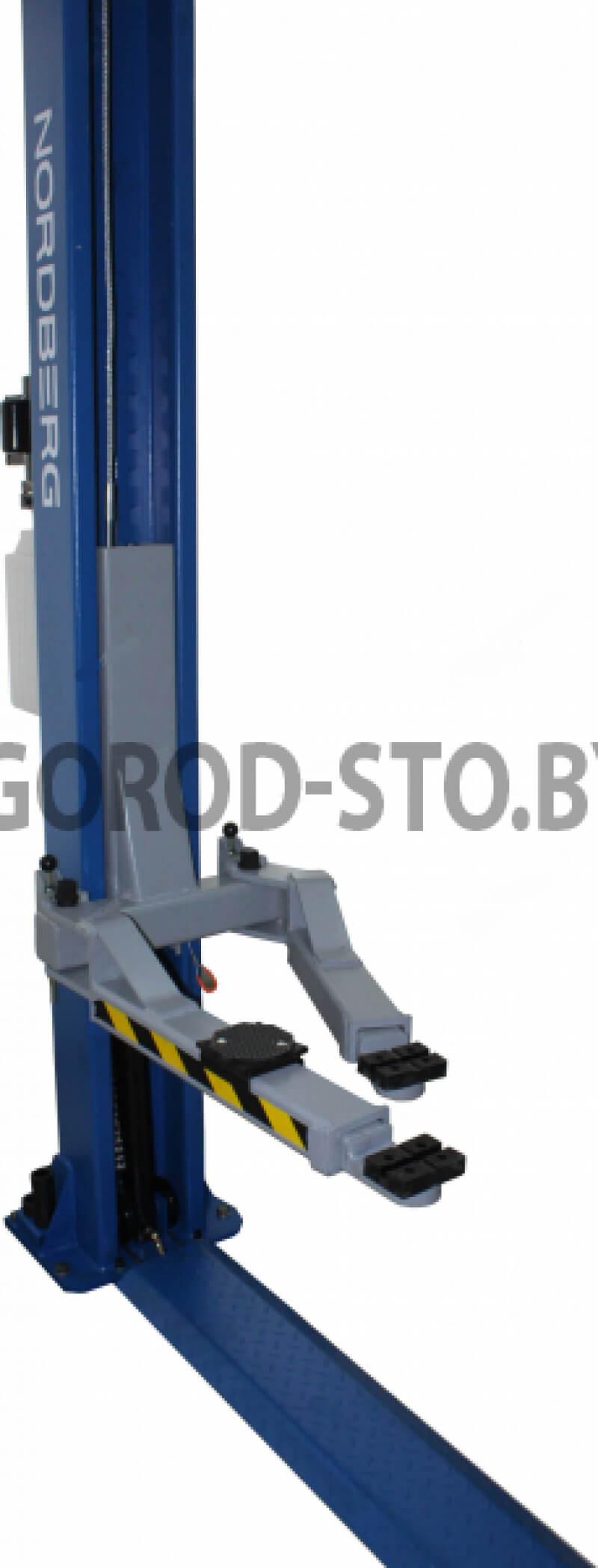 Подъёмник 2-х стоечный электрогидравлический NORDBERG N4123A-4,5T_380V