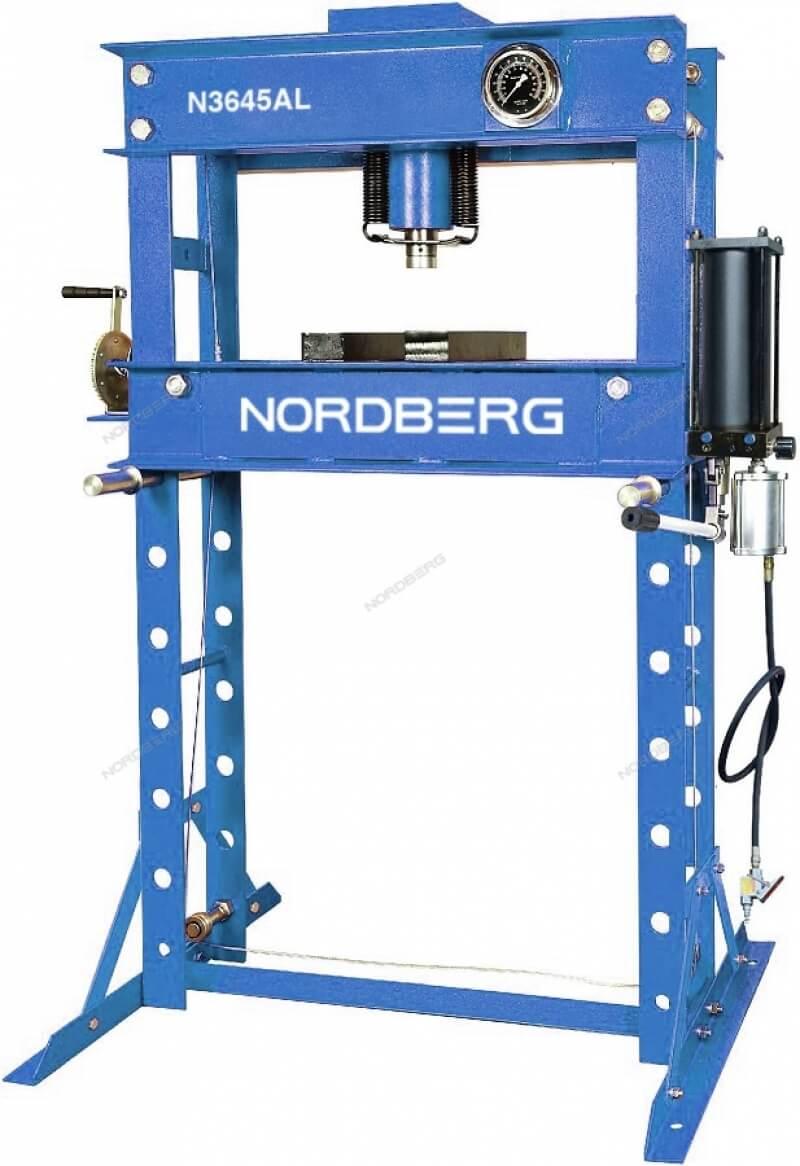 Пресс с пневмоприводом NORDBERG ECO N3645AL