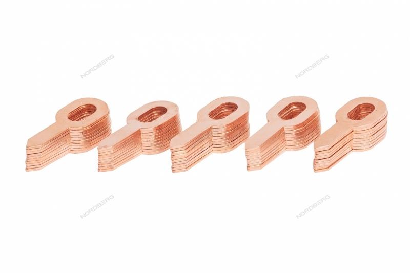 Шайба прямая для вытягивания (50 шт.) NORDBERG WSA-3
