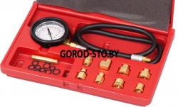 Манометр для измерения давления масла, комплект адаптеров МАСТАК 120-20020C