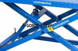 Подъемник для мото и квадроциклов с пневмоприводом NORDBERG N4M4