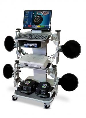 3D стенд развал-схождения Ravaglioli RAVTD3000