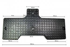 Накладка резиновая на отжим шины для шиномонтажных станков FLYING BL533, BL533IT и других. Арт. 221-10 (C-200-500000-0).