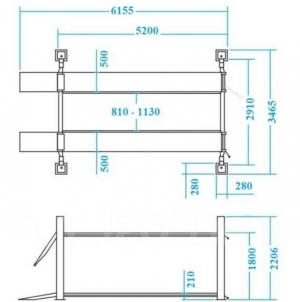 Размеры Nordberg 4440J