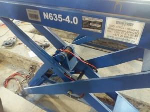 Подъемник ножничный для развал-схождения NORDBERG N635-4,0